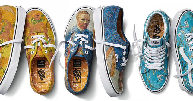 Vans Teams Up With Van Gogh Art Museum