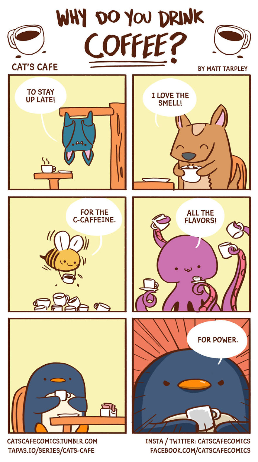 47 Wholesome Cat S Cafe Comics That Will Brighten Your Day Demilked