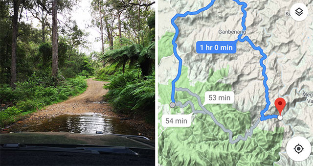 Guy Using Google Maps Takes A 15 Min Shortcut Finds Out That Even Google Wants To Kill Him In Australia Demilked