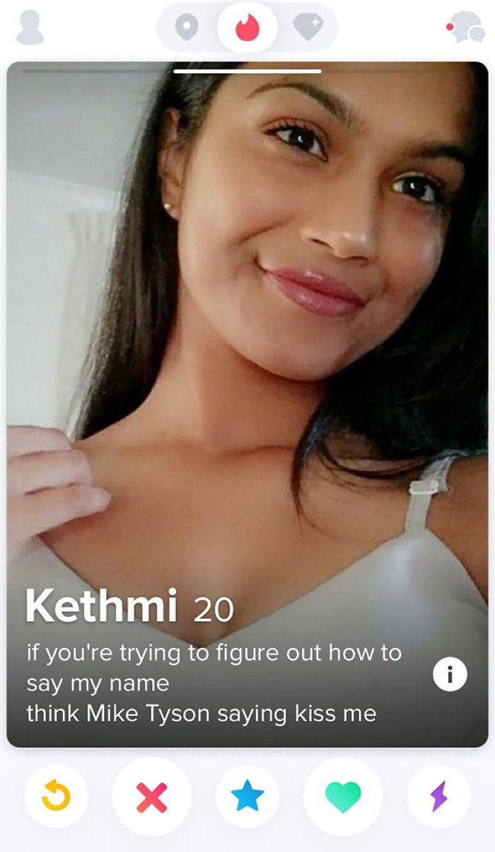 Female tinder profile examples 18 Cute