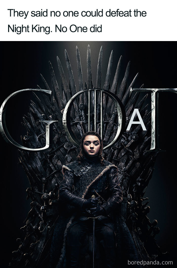 45 Fresh Memes From The Game Of Thrones Season 8 Episode 3 Spoilers Demilked