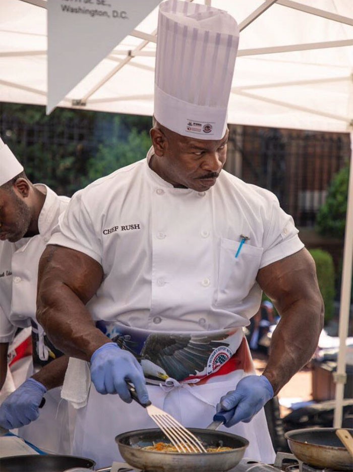 Someone Noticed This White House Chef Looks Like A Bodybuilder And Even Started A Photoshop Battle Demilked