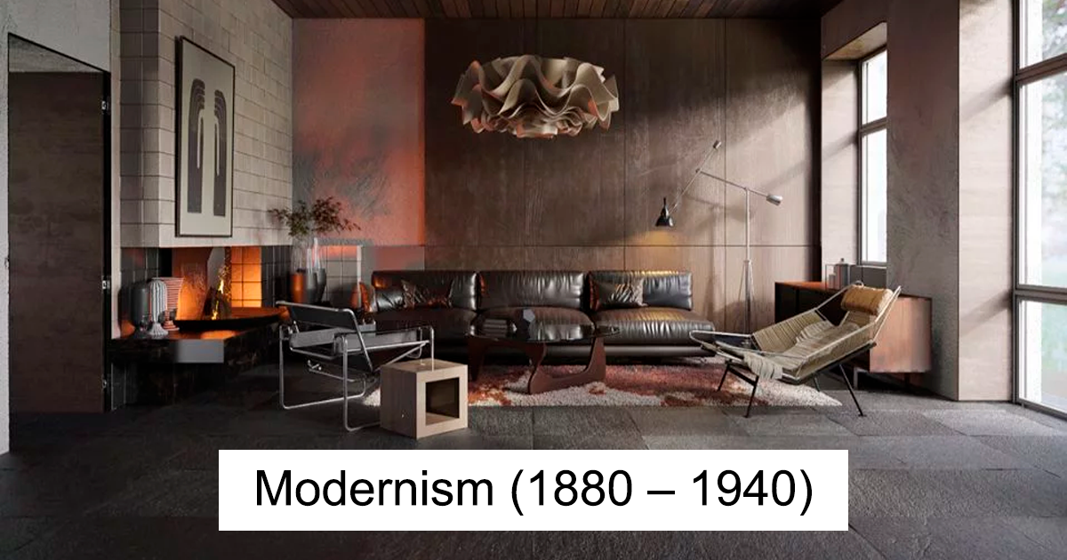 Designers Show How Much Interior Design Has Changed Over The Past 600 Years 12 Pics Demilked