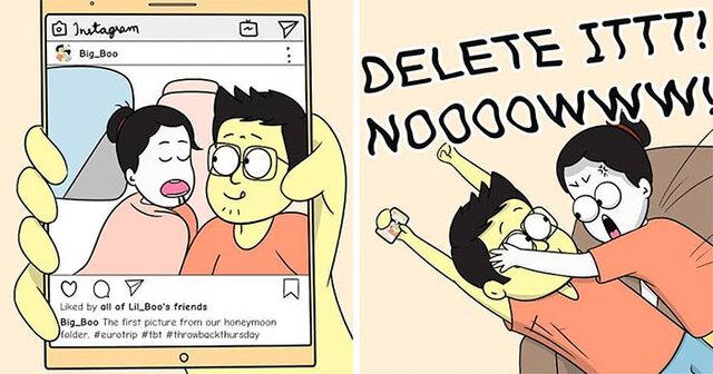 Cute relationship comic