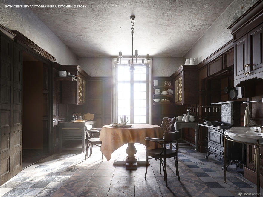 Here S How Kitchen Designs Changed Over The Past 500 Years Demilked