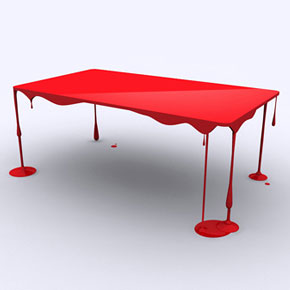 18 of the most brilliant modern table designs for Creative table design