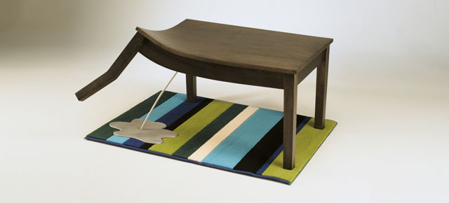 Weird and wacky furniture by straight line designs for Bizarre coffee table