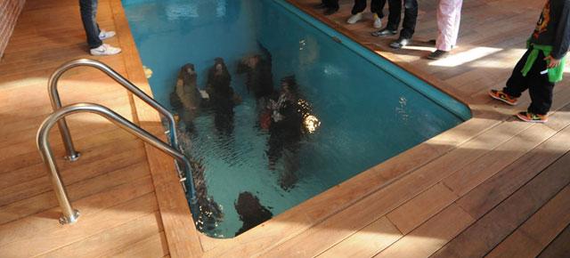 Fake Swimming Pool Demilked