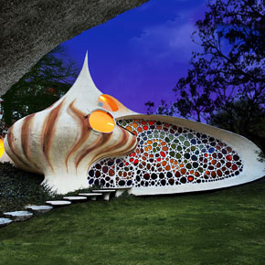 Nautilus: Giant Seashell House