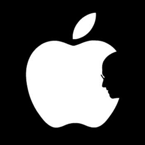 Apple Logo Turned Into Touching Tribute to Steve Jobs