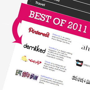 Vote for Demilked to Win The Best Site of 2011 Award on All My Faves!