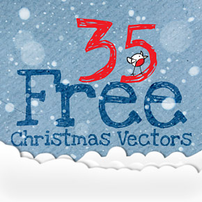 35 High Quality Free Christmas Vector Graphics