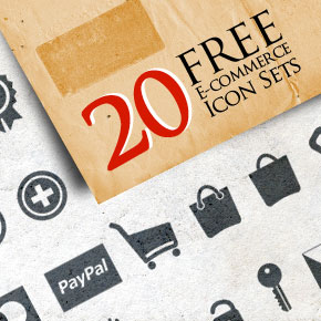 20 Free E-Commerce Icon Sets for Your Shopping Site