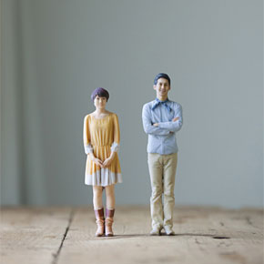 3D Photo Booth Prints Personal Miniature Figures