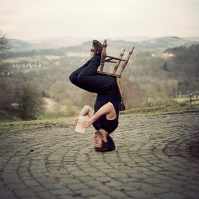 Non-Photoshopped Upside Down Portraits by Caulton Morris