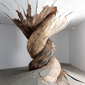Scrap Wood Turned Into Stunning Sculptures
