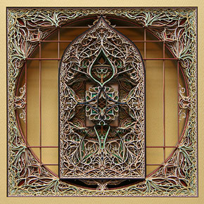 Intricate Laser Cut Paper Art by Eric Standley