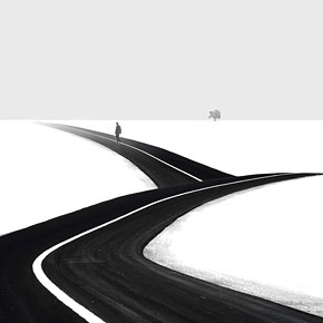 Minimalist Black and White Photography by Hossein Zare