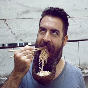 Perfect Mr. Incredibeard Becomes Internet Sensation With Creative Beard Styles