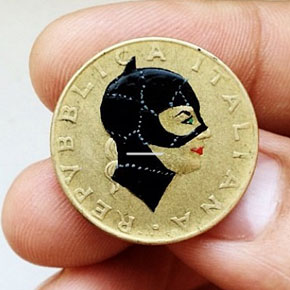 Coins Turned Into Pop-Culture Portraits By Andre Levy