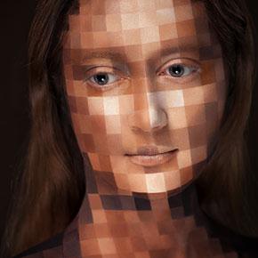 New Illusory Makeup Portraits By Alexander Khokhlov