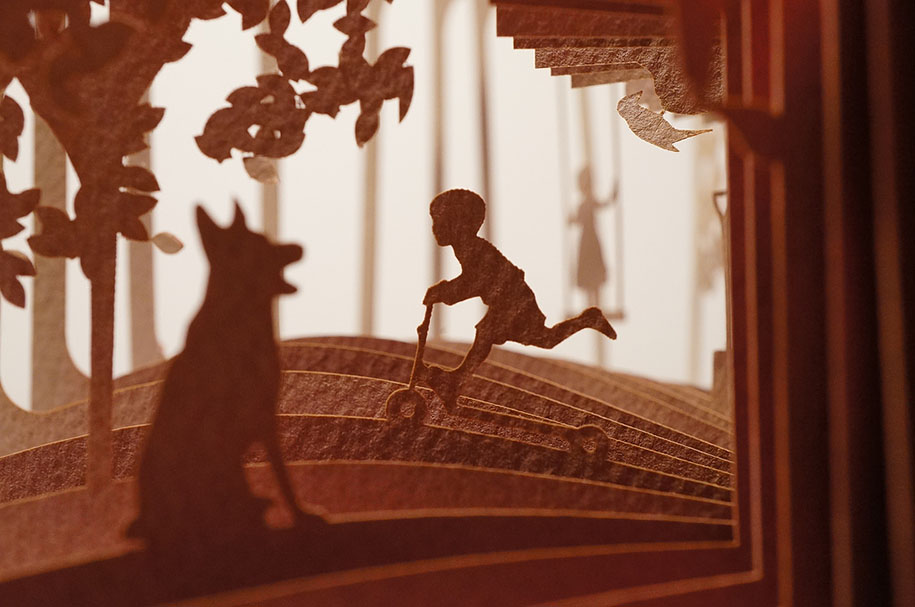 Fairytales Come To Life With 360 176 Cut Books By Yusuke Oono