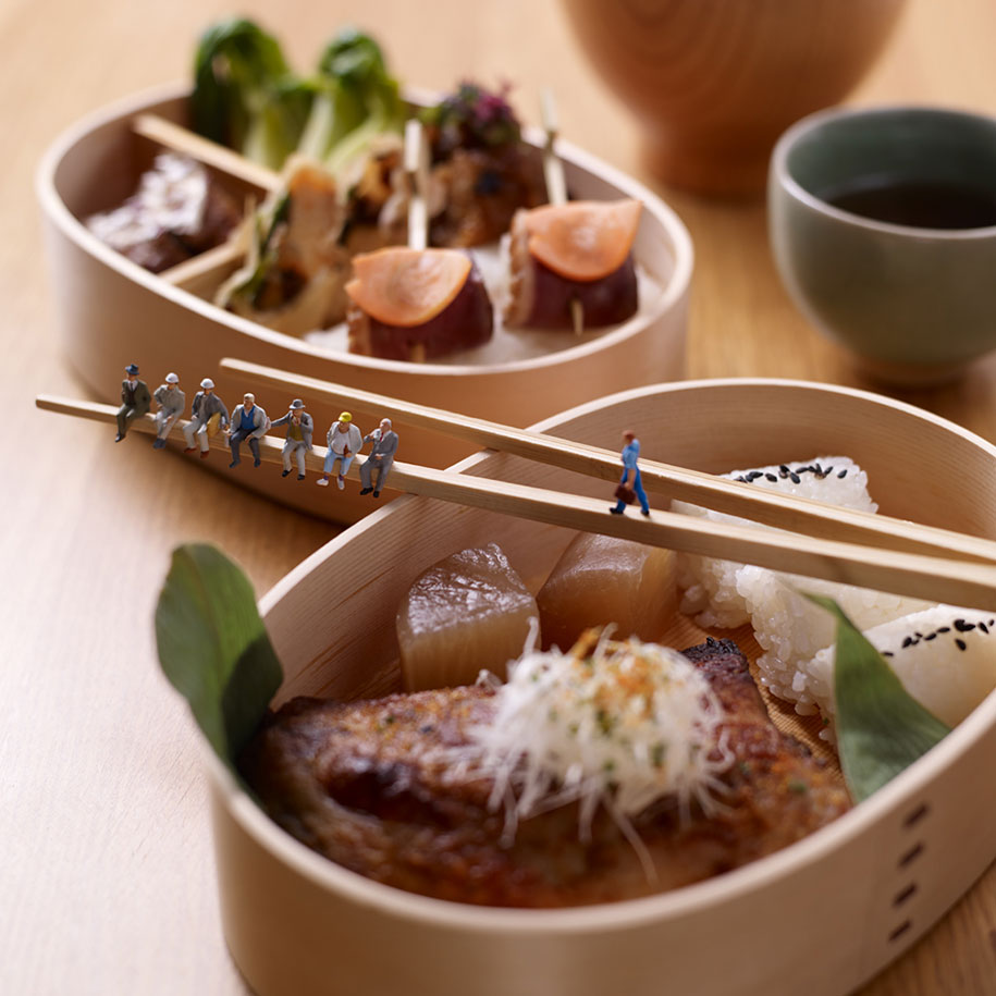 Minimiam: le avventure di un popolo in miniatura nel mondo della Food Photography