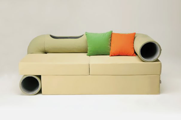 21 creative furniture design ideas for pets - Sofas para gatos ...
