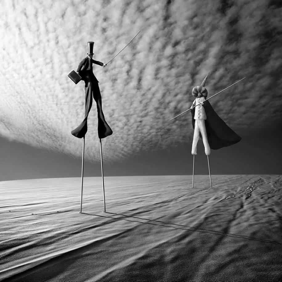 Picture This Photography And Graphics: Surreal Photo Manipulation By Photographer Dariusz Klimczak
