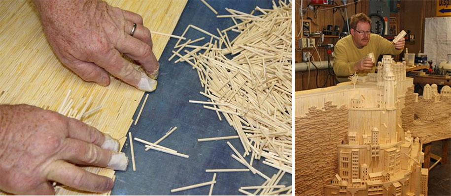 3 Years And 420000 Matchsticks This Is What It Took To