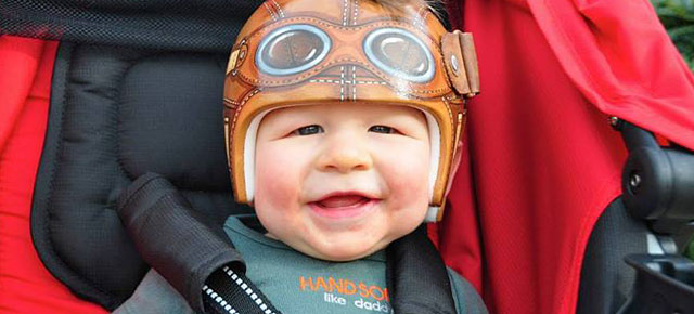 Artist Decorates Babies Head Shaping Helmets With Cute
