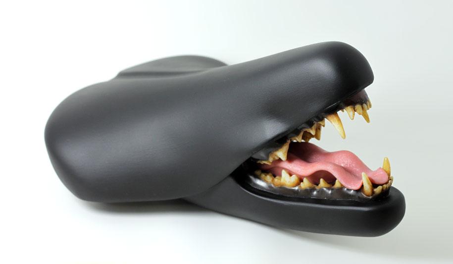 Bizarre Bicycle Seat Sculptures By Designer Clem Chen