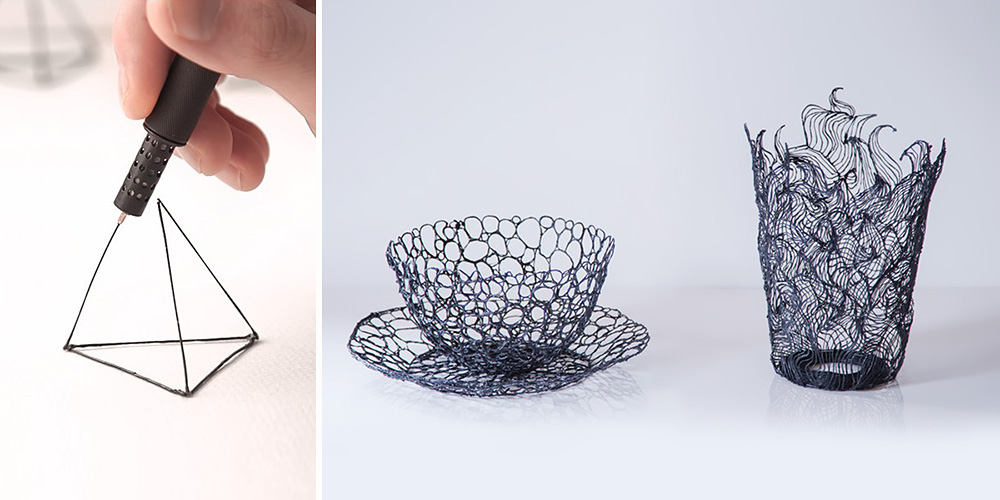 lix the smallest 3d pen that lets you draw in the air