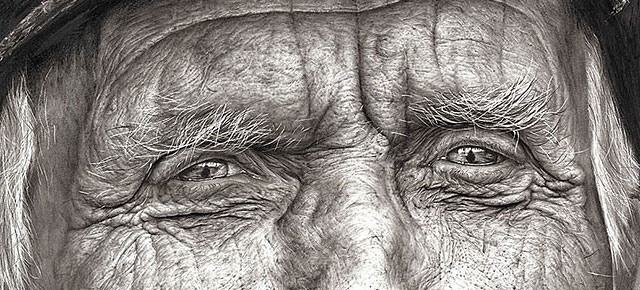 16 year old artist wins the national art competition with her impressive hyper realistic pencil drawing