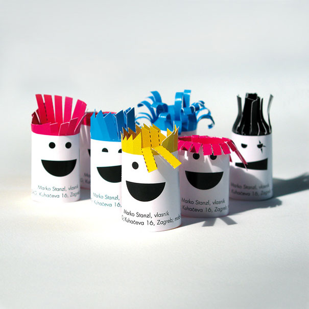 30 of the most creative business card designs designed by igor perkusic colourmoves