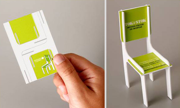 30 of the most creative business card designs toy chair business card friedricerecipe Gallery