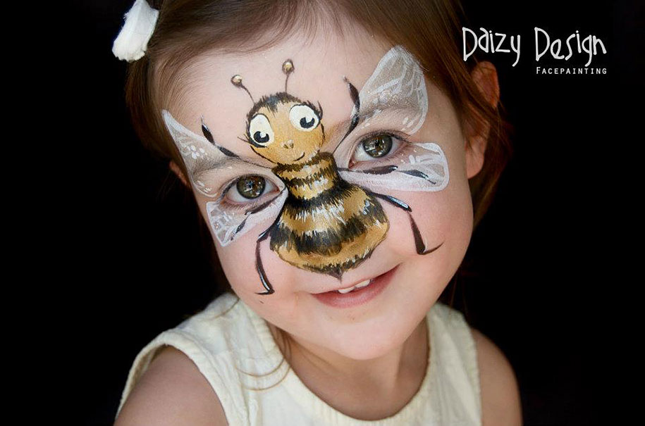 New Zealand Artist Turns Childrens Faces Into Fantastic Creatures