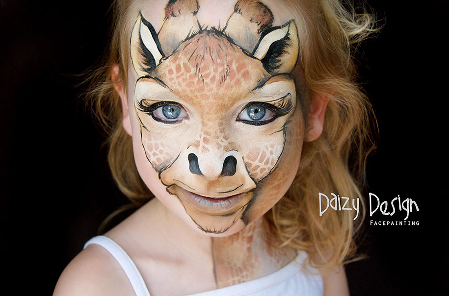 new zealand artist turns children s faces into fantastic creatures