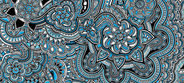"""I'm A Slow Drawer"""" Says Estonian Artist Who Spent Around 60 Hours Awesome Pattern Art"""
