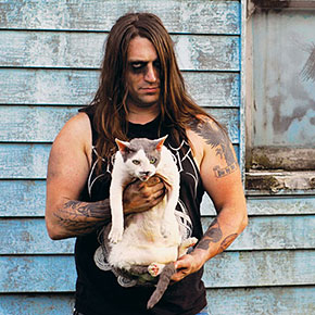 Metal Musicians Show Their Soft Sides By Posing With Their Cats