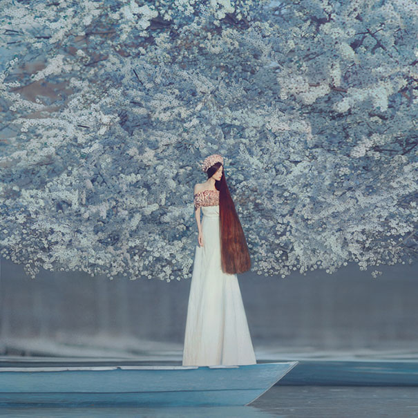 Photographer Takes Amazing Surreal Pictures With An Old Film Camera - Beautiful surreal photography oleg oprisco
