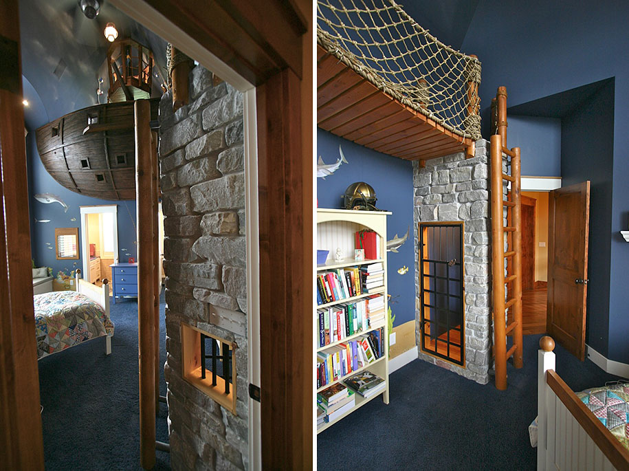 22 of the most magical bedroom interiors for kids for Creative interior designs