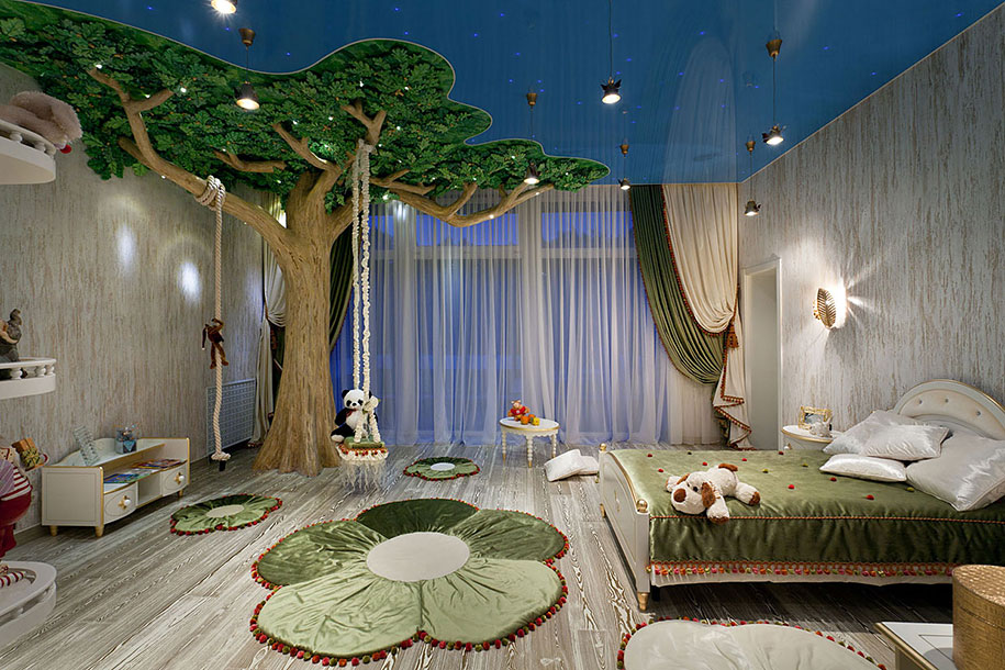 22 of the most magical bedroom interiors for kids Creative interior ideas