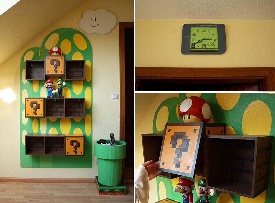 Super mario room decor ideas