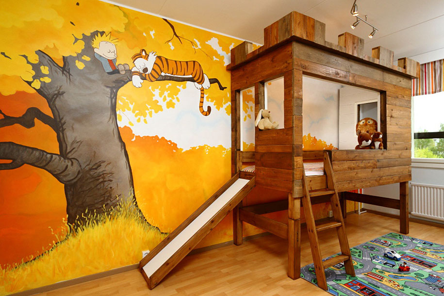 2 Calvin And Hobbes Bedroom