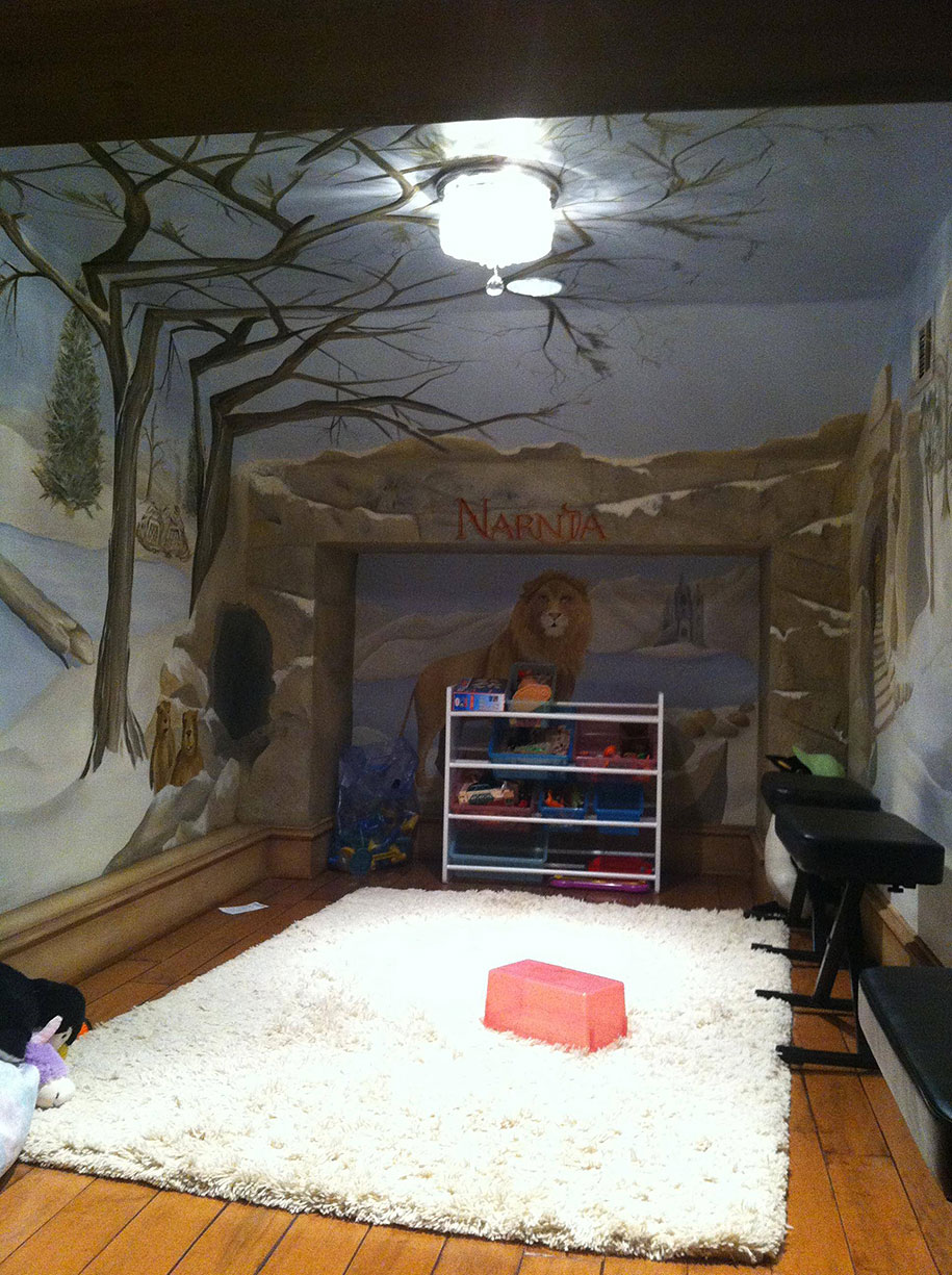 22 of the most magical bedroom interiors for kids for Time to build a house