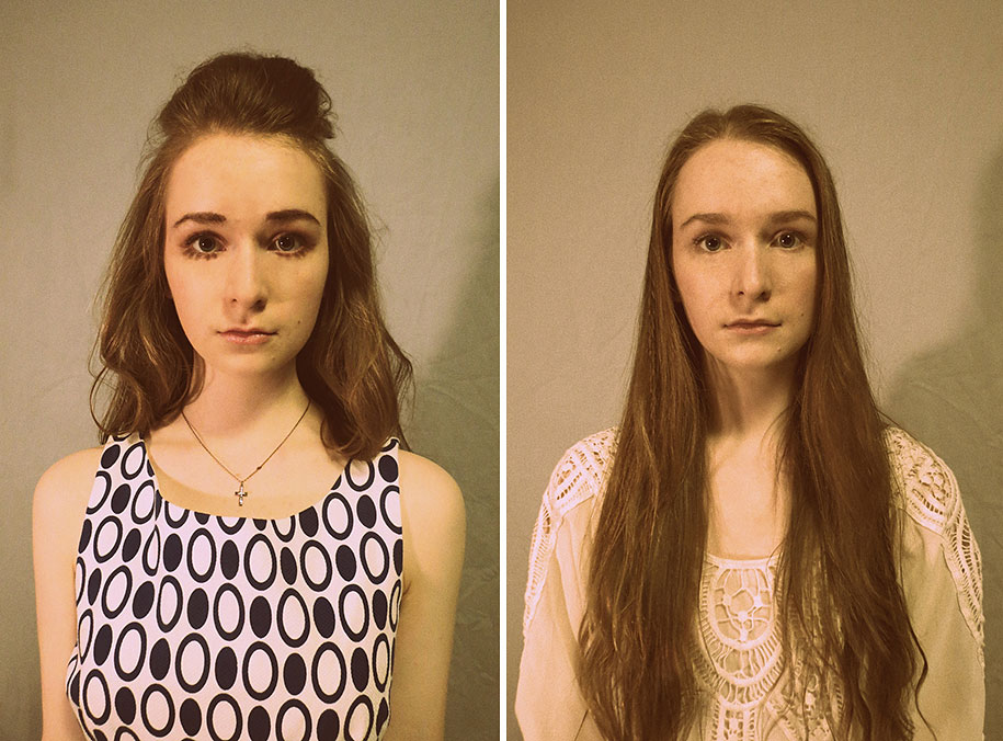 16 Year Old Shows How She Would Have Looked From The 1920s To 2010s