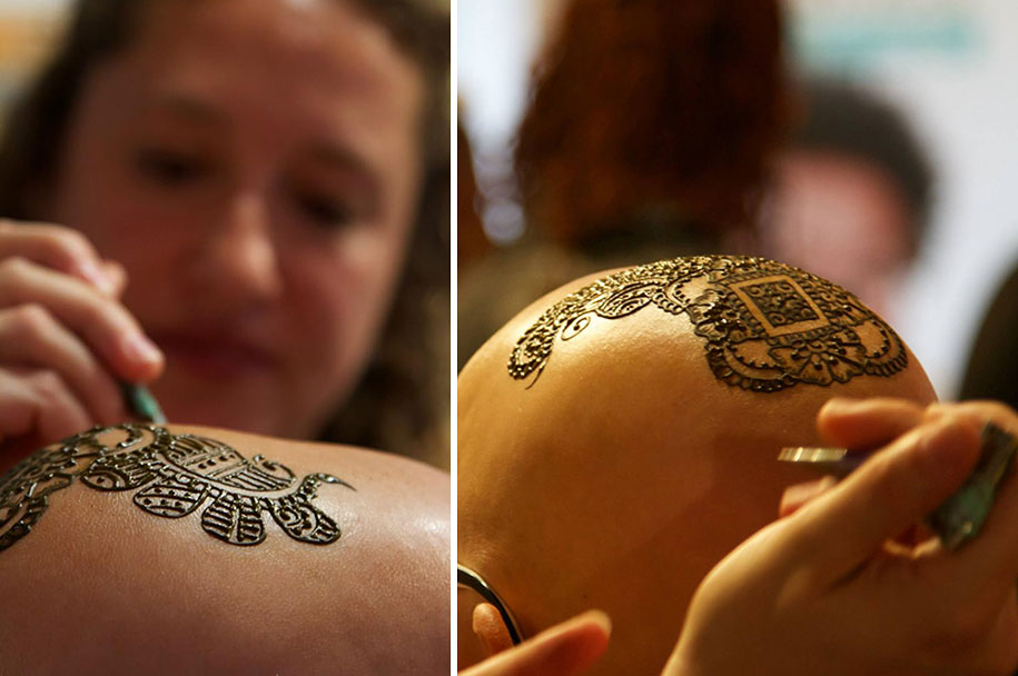 Side Tattoo For Women Henna: Beautiful Henna Crowns Help Cancer Patients Overcome Their