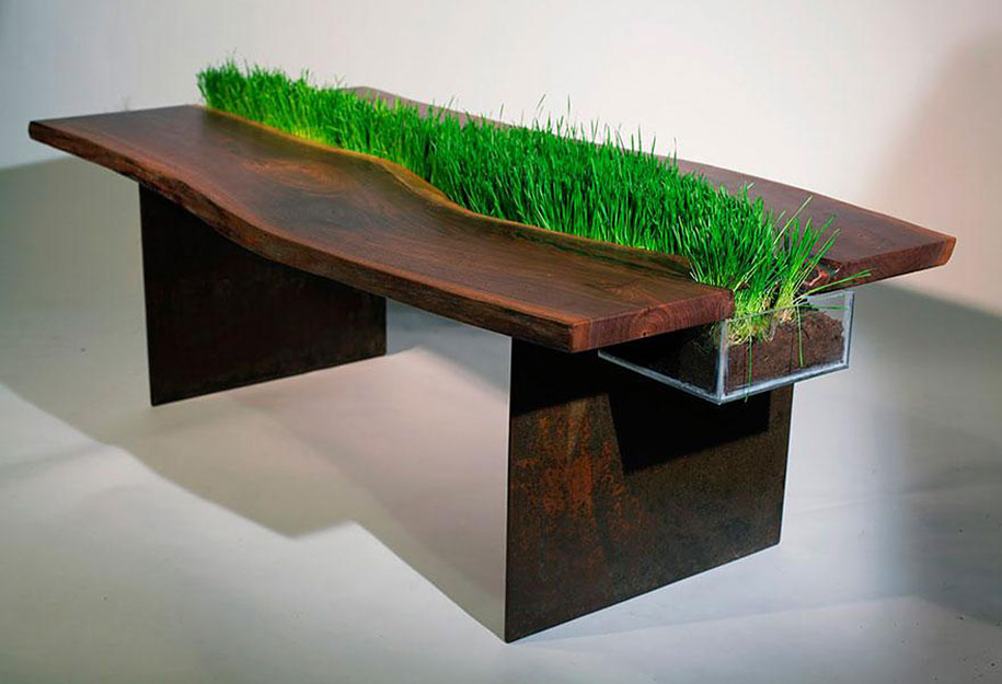 creative inspiration table design. Grass Table for Cats 15 Cool Tables That Will Take Your Interior To The Next Level