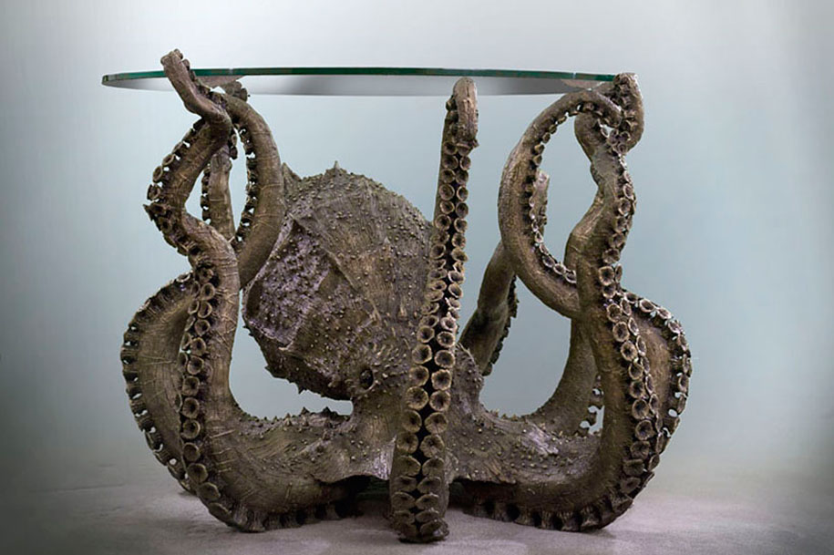 Marvelous 5. Octopus Table